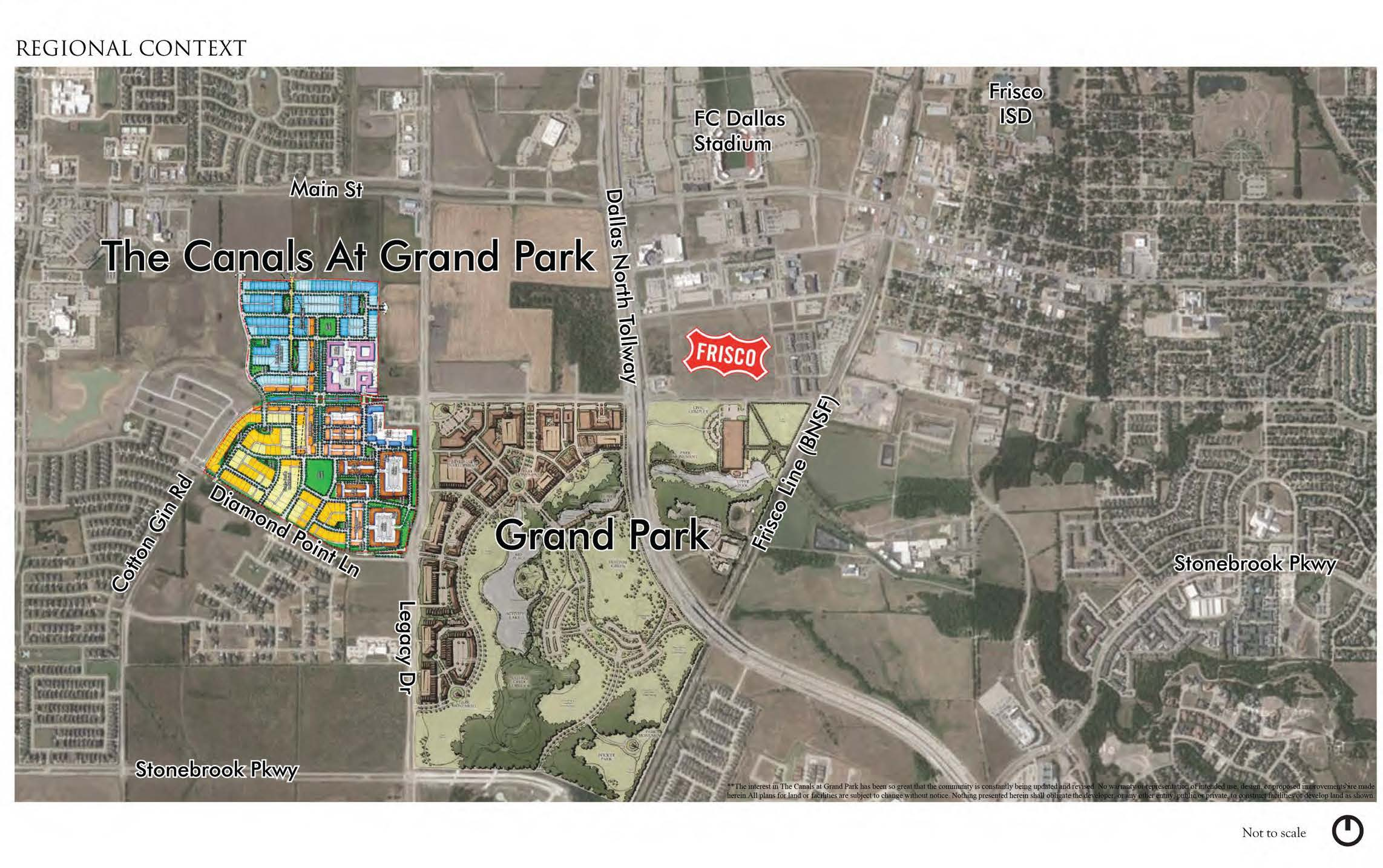 The Canals At Grand Park Frisco Tx Arcadia Realty Corp
